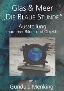 Gundula Menking zeigt maritime Bilder und Objekte im Café Tafelfreuden in Buxtehude