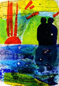 Glas und Meer - Gundula Menking - Glaskunst von der Elbe