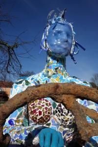 """Glas & Meer – Gundula Menking """"Meerjungfrau und Seemannsgarn"""", Stadtpark Buxtehude"""