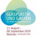 Glasplastik und Garten 2019